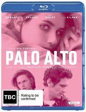 Palo Alto Blu-ray (REGION B) Jack Kilmer, Nat Wolff, Gia Coppola BRAND NEW