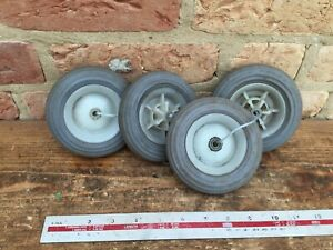 Model car wheels /aircraft etc plastic soft type tyres  diameter approx 4 inch