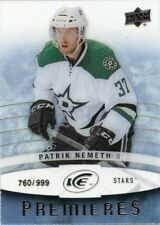 14/15 UPPER DECK ICE ROOKIE RC #100 PATRIK NEMETH 760/999 STARS *42483