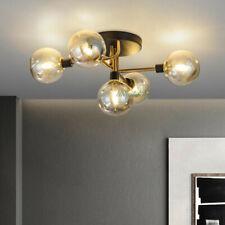 Modern Flush Mount Ceiling Light Glass Globe Sputnik Chandelier Pendant Light