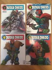 2000 AD The Complete Judge Dredd Comic Magazine Issue Numbers 1 - 4 (1992) Good