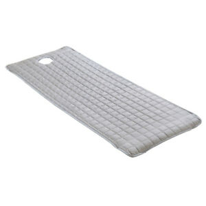 Quilted Massage Table Mattress Beauty Face Bed Sheet Pad with Face Hole