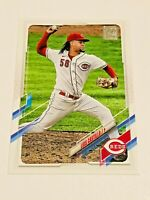 2021 Topps Baseball Base Card #271 - Luis Castillo - Cincinnati Reds