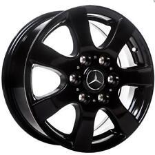 "Llantas de Aluminio Mercedes Sprinter 16"" 6x130 Noble Negro Neumáticos Invierno"
