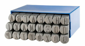 GRAVUREM Jeu lettres à frapper - GREC alphabet (A-Ω)