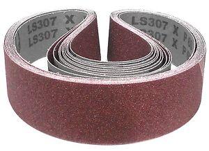10 Stück Klingspor Gewebe Schleifband Schleifbänder 50x1020 mm jede Körnung Korn