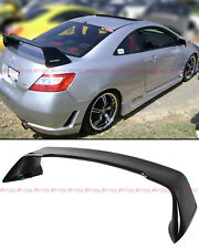 2006-2011 8TH GEN HONDA CIVIC 2 DR COUPE GLOSSY BLACK MUG RR STYLE TRUNK SPOILER