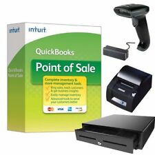 QuickBooks Desktop Point of Sale 18.0 Basic New User w/ Hardware