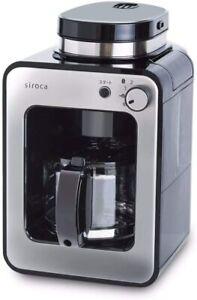 siroca Shiroka Fully automatic coffee maker Cafe SC-A351 100V 2-stage Mill