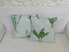 Cushion Cover, Light Blue, Floral, Designers Guild, Lily of the valley, Lilium.