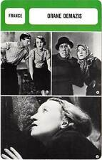 FICHE CINEMA :  ORANE DEMAZIS -  France (Biographie/Filmographie)