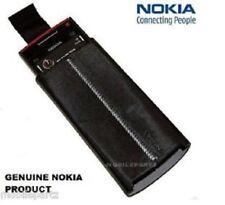 Original Nokia X6 Schwarz Pull TAB Slip/Case/Skin Tasche Etui-CP-407