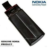 Genuine Nokia X6 Black Pull Tab Slip / Case / Skin Pocket Pouch - CP-407