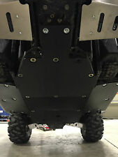 "2008-2014 POLARIS RZR 5-PIECE 3/8"" UHMW POLY SKID PLATE W/ SIDE GUARDS USA MADE"
