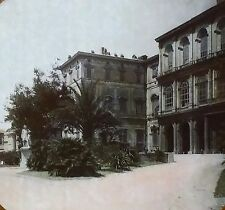 Palazzo Barberini Palace, Rome, Italy, Vintage Magic Lantern Glass Slide