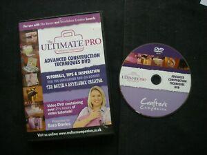 The Ultimate Pro ADVANCED CONSTRUCTION TECHNIQUES DVD Boxer ENVELOBOX 8368