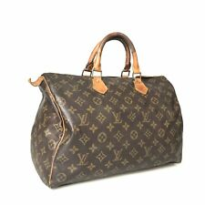 Louis Vuitton Monogram Speedy 35 M41524 with key used with a padlock 1530-10Z1