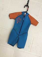 Junior Shorty Wetsuit 2 Year Old  With Front Zip