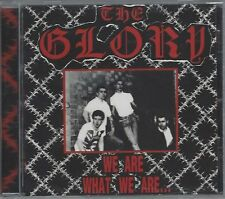 THE GLORY - WE ARE WHAT WE ARE/SKINS 'N' PUNKS - (still sealed cd) - HARD CD 16
