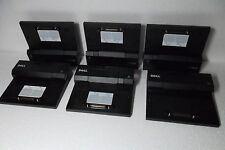 LOT-6 Dell PRO3X E-Port Replicator Docking Station USB RJ45  DVI VGA T308D PW380