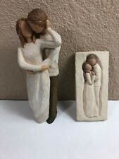 Willow Tree DEMANDCO Together Figure / Embrace Wall Hanging Lot 2011