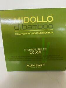 Alfaparf midollo Di bamboo adv. Bio_reconstruction thermal filler color 8 x 5ml