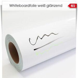 Whiteboard Folie weiß Breite 61cm ab 1Meter NEU DWP001B