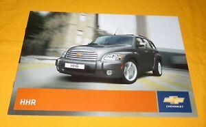 Chevrolet HHR 2008 Prospekt Brochure Depliant Prospect Catalog Broschyr Folder