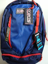 """NWT JANSPORT Trans CAPACITOR Blue Backpack 17"""" Laptop Sleeve Book Bag Boys NEW"""