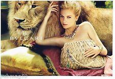 Publicité Advertising 2012 (2 pages) Bijoux Joaillerie BULGARI