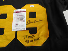 Dave Parker signed Pittsburgh Pirates jersey w/ dual inscriptions JSA COA