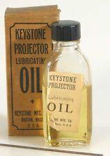 KEYSTONE PROJECTOR OIL BOTTLE IN ORIGINAL BOX (VINTAGE)