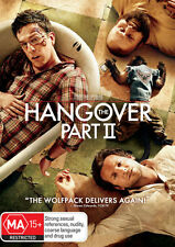 THE HANGOVER PART II - NEW & SEALED R4 DVD (ZACH GALIFIANAKIS, BRADLEY COOPER)