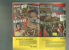 Curtis Publications ad brochure 1950 Post Time Jack and Jill Sports Afield