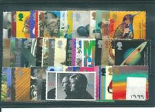GB COMMEMS - 1999 - COMPLETE YEAR -  UNM MINT SETS