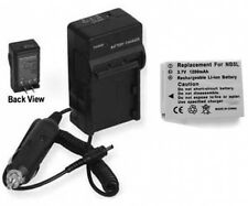 Battery + Charger for Canon SD900 SD700 IXY Digital 800IS 810IS 820IS