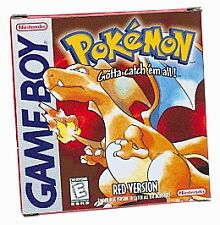 NEW BATTERY!! Pokemon Red CART ONLY - Nintendo Gameboy 223d