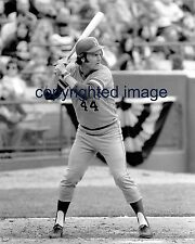Gorman Thomas Milwaukee Brewers #44 jersey B+W 8x10 A