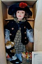"Boyd's Doll Yesterday's Child ""Kayla & Kirby Harvest Time w/Coa"