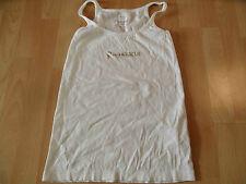 Anastacia BA s. Oliver Basic top blanc M. dorée pression taille M top zc716