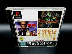 Tekken Soulblade 2 Spiele Playstation 1 PS1 PSX PAL CD sehr gut