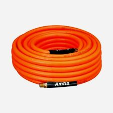 Amflo Pvc Air Hose 25 X 38 Orange Nylon 300psi Stores Itself Flexible 576 25a