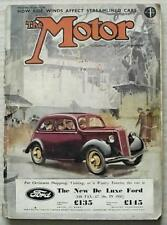 The MOTOR Magazine 27 Nov 1934 MORRIS OXFORD & CROSSLEY REGIS Road Tested