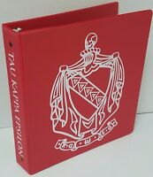 Tau Kappa Epsilon 3-Ring Binder (Pair) - Licensed