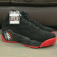 New Fila MB Jamal Mashburn Classic Limited Edition Black Red Men's Size 13