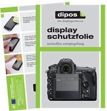 6x Nikon D850 Schutzfolie matt Displayschutzfolie Folie Display Schutz dipos