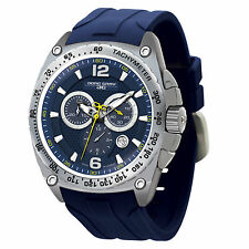 Brand New Jorg Gray JG8400-21 Mens Blue SS Analog Chronograph Dial Sports Watch