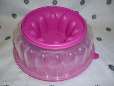 Tupperware  Bake 2 Basics Jel Ring Jelly Mould Fushia Pink New
