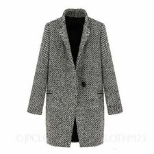 Women's No Pattern Wool Blend Trench Coats, Macs Casual Coats & Jackets