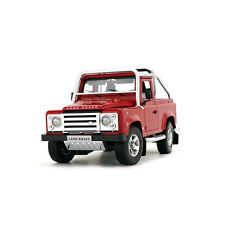 Original Model,1:18 Land Rover 2008 Defender Svx Pickup Offroader,red